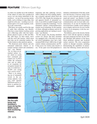 Marine Technology Magazine, page 28,  Apr 2020