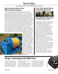 Marine Technology Magazine, page 38,  Apr 2020