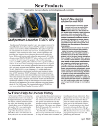 Marine Technology Magazine, page 42,  Apr 2020