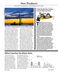 Marine Technology Magazine, page 44,  Apr 2020