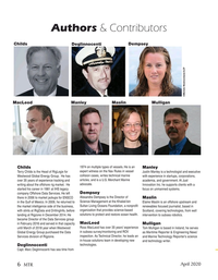 Marine Technology Magazine, page 6,  Apr 2020