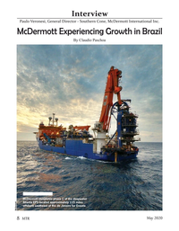 Marine Technology Magazine, page 8,  May 2020