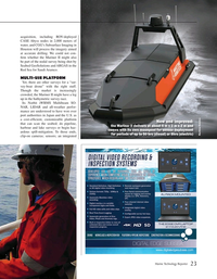 Marine Technology Magazine, page 23,  May 2020