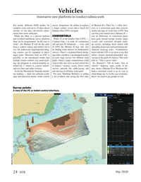 Marine Technology Magazine, page 24,  May 2020
