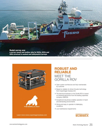 Marine Technology Magazine, page 25,  May 2020