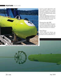 Marine Technology Magazine, page 28,  May 2020