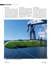 Marine Technology Magazine, page 30,  May 2020