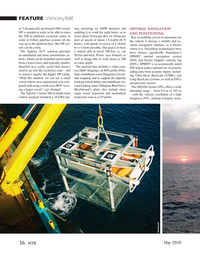 Marine Technology Magazine, page 36,  May 2020