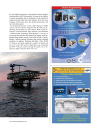 Marine Technology Magazine, page 37,  May 2020