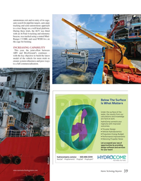 Marine Technology Magazine, page 39,  May 2020