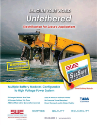 Marine Technology Magazine, page 45,  May 2020
