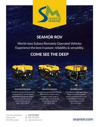 Marine Technology Magazine, page 3,  May 2020