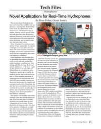 Marine Technology Magazine, page 55,  May 2020