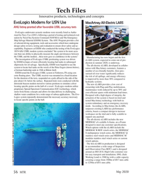 Marine Technology Magazine, page 56,  May 2020