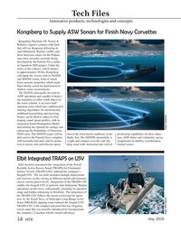 Marine Technology Magazine, page 58,  May 2020