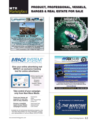 Marine Technology Magazine, page 63,  May 2020