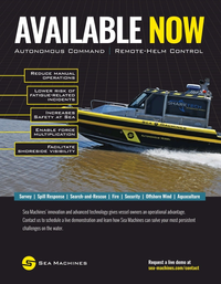 Marine Technology Magazine, page 2nd Cover,  Jun 2020