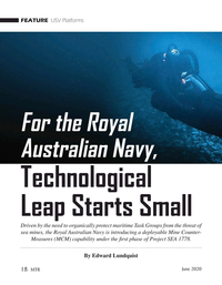 Marine Technology Magazine, page 18,  Jun 2020