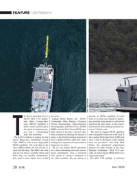 Marine Technology Magazine, page 20,  Jun 2020