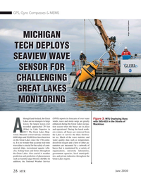 Marine Technology Magazine, page 28,  Jun 2020