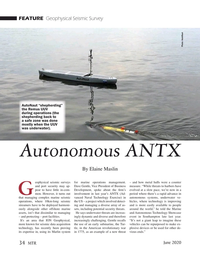 Marine Technology Magazine, page 34,  Jun 2020