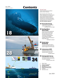 Marine Technology Magazine, page 2,  Jun 2020