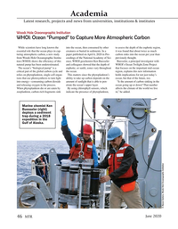 Marine Technology Magazine, page 46,  Jun 2020