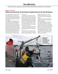 Marine Technology Magazine, page 48,  Jun 2020