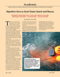Marine Technology Magazine, page 56,  Jun 2020
