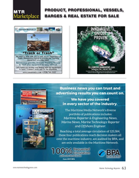Marine Technology Magazine, page 63,  Jun 2020