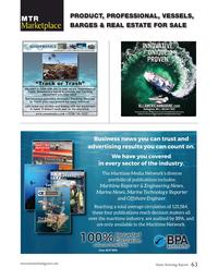Marine Technology Magazine, page 63,  Jun 2020
