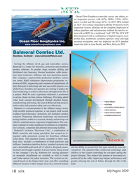 Marine Technology Magazine, page 10,  Jul 2020