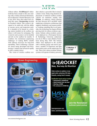 Marine Technology Magazine, page 43,  Jul 2020
