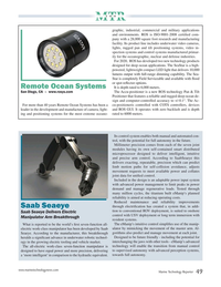 Marine Technology Magazine, page 49,  Jul 2020