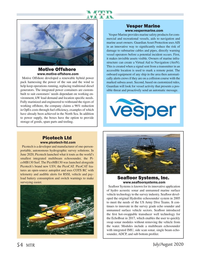 Marine Technology Magazine, page 54,  Jul 2020