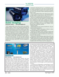 Marine Technology Magazine, page 56,  Jul 2020
