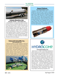 Marine Technology Magazine, page 60,  Jul 2020