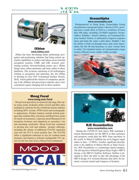 Marine Technology Magazine, page 61,  Jul 2020