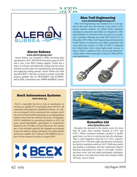Marine Technology Magazine, page 62,  Jul 2020