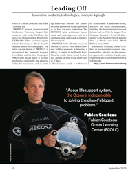 Marine Technology Magazine, page 10,  Sep 2020