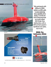 Marine Technology Magazine, page 28,  Sep 2020