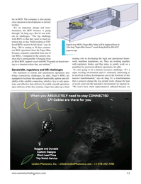 Marine Technology Magazine, page 43,  Sep 2020