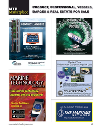 Marine Technology Magazine, page 63,  Sep 2020