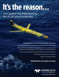 Marine Technology Magazine, page 4th Cover,  Sep 2020