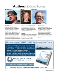 Marine Technology Magazine, page 6,  Sep 2020