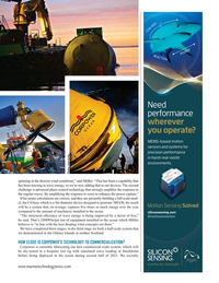 Marine Technology Magazine, page 21,  Oct 2020