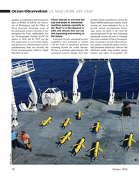 Marine Technology Magazine, page 28,  Oct 2020