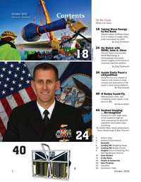 Marine Technology Magazine, page 2,  Oct 2020