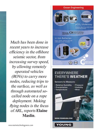 Marine Technology Magazine, page 41,  Oct 2020