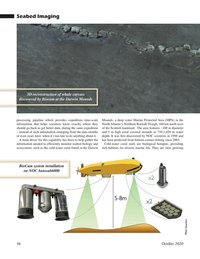 Marine Technology Magazine, page 46,  Oct 2020